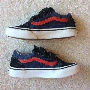 Boys Velcro Vans - Size 2